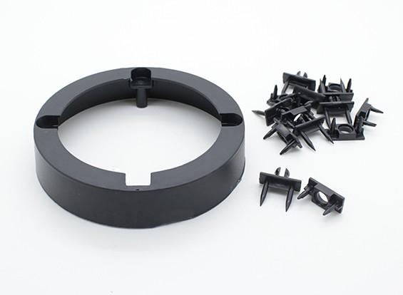 Radjet Ultra Pusher 790mm - anillo de montaje del motor y la cubierta de clavos y grapas clips