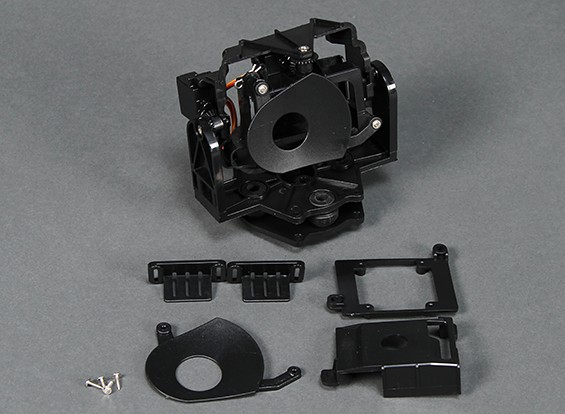 HobbyKing Go-Pro cámara del cardán con Pan y Tilt (1 unidad)