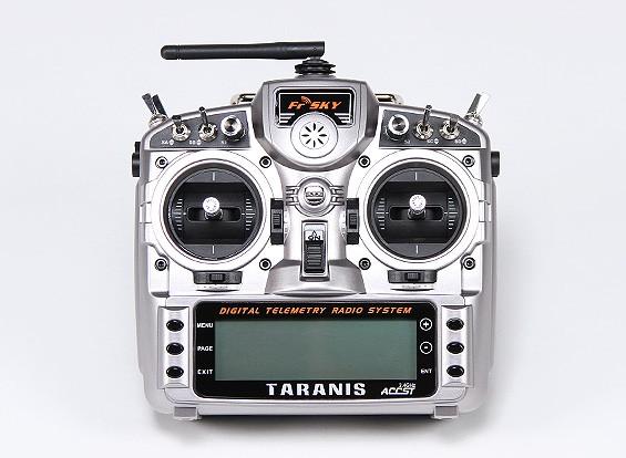 FrSky 2,4 GHz ACCST TARANIS sistema de radio telemetría digital X9D (Modo 2)
