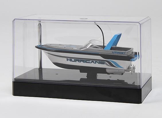 Mini barco de la velocidad de 2 canales con control de radio y cargador