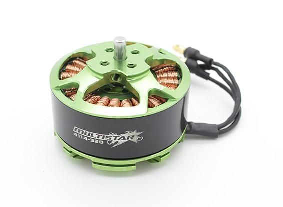 4114-320KV Turnigy Multistar Multi-rotor del motor con 3,5 mm conector de bala