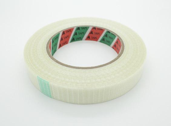 Alta resistencia a cuadros de fibra de cinta de 20mm x 50m