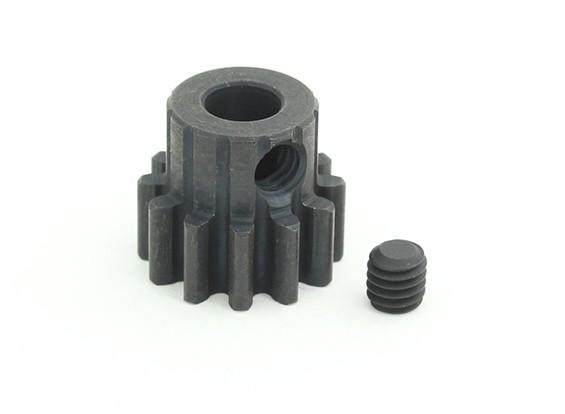 12T / 5 mm de acero templado M1 engranaje de piñón (1 unidad)