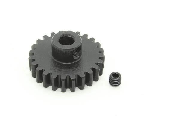 24T / 5 mm de acero templado M1 engranaje de piñón (1 unidad)