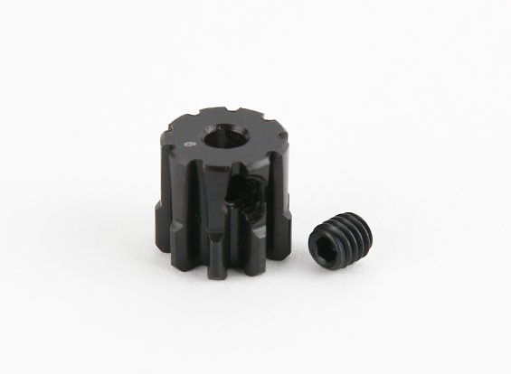 9T / 3,175 mm M1 de acero endurecido engranaje de piñón (1 unidad)