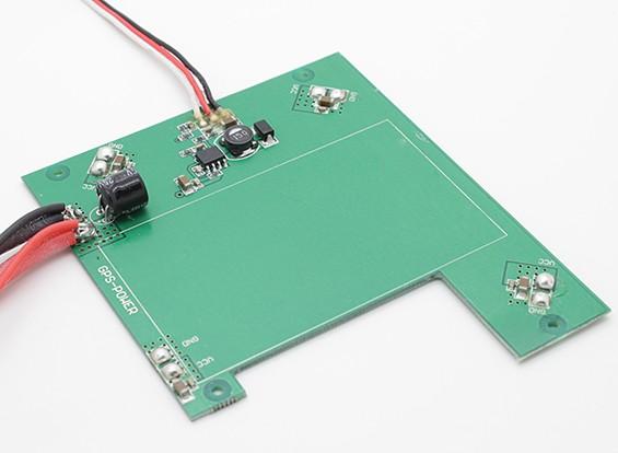 Walkera QR X350 GPS Quadcopter - placa de distribución de alimentación para el GPS