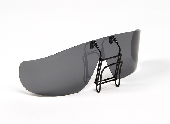 Turnigy clip de gafas de sol polarizadas (Negro)