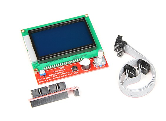 Controlador de impresora 3D Full gráfico inteligente (RAMPAS RepRap)