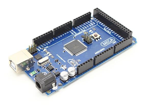 2560 mega Junta ATmega2560-16AU más el cable USB.