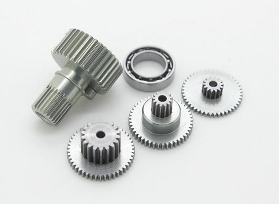 Engranaje de reemplazo de conjunto para RJX FS-0391HV del engranaje del metal de tamaño medio servo de cola