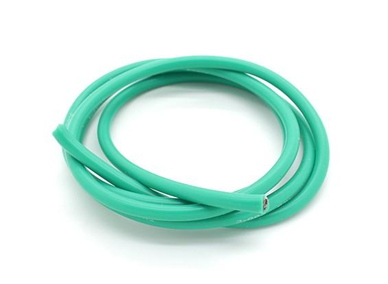 Turnigy Pure-silicona de alambre 12 AWG 1m (verde)