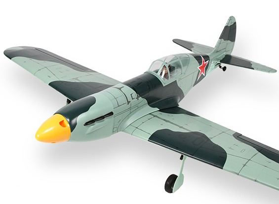 Mig-3 caza soviético Balsa GP / EP 1.570mm (ARF)