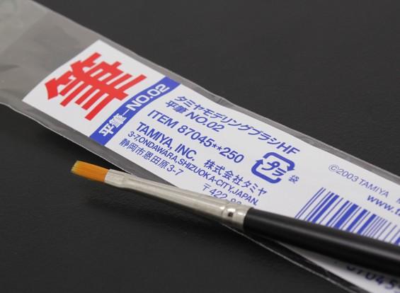 Tamiya alta Finalizar cepillo plano (artículo 87045)