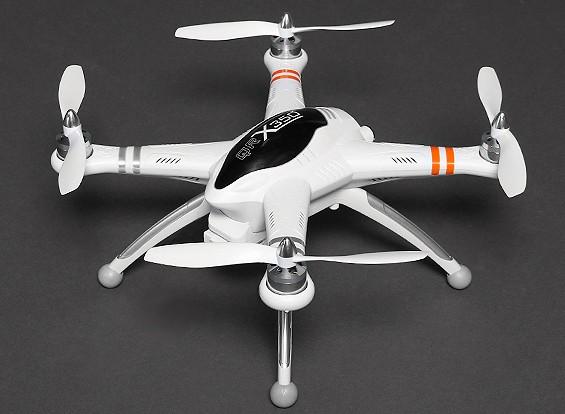 Walkera QR X350 FPV GPS Quadcopter con retorno a la portada, DEVO F7 y cámara de 5,8 GHz (Modo 2) (RTF)