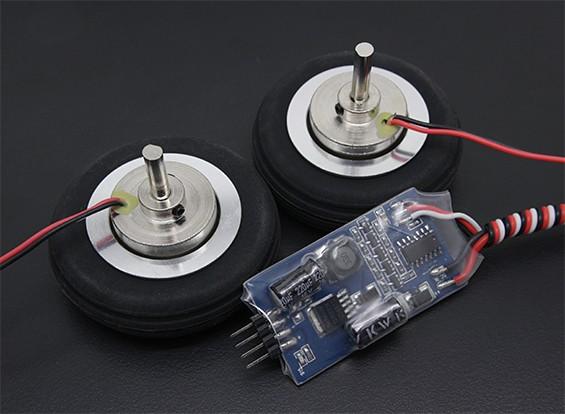 """El Dr. MadThrust 2.0 """"/ 51mm Ruedas principales con el sistema de frenos Electro Magnética (2 piezas)"""