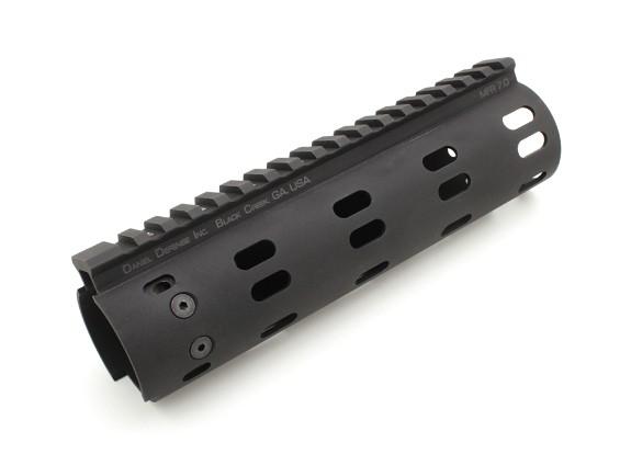 MadBull la defensa de Daniel modular de 7 pulgadas del carril del flotador (Negro)