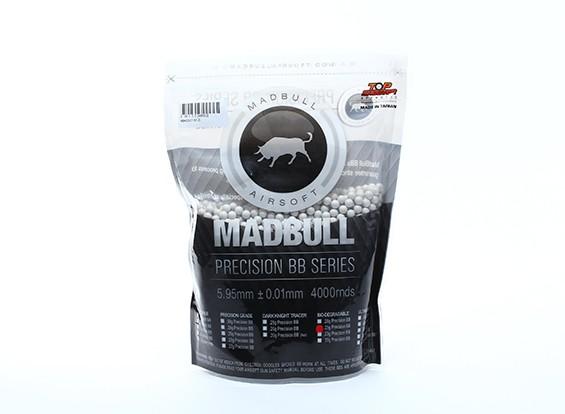 Bolsa Madbull precisión 0,25 g biodegradable BB 4000rds