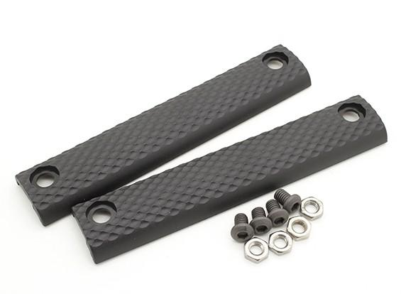 Dytac UXR 3 Panel estándar de 5.5 pulgadas (Negro, 2pcs / bolsa)