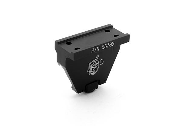Dytac KAC Estilo de montaje para compensar Réplica T1 visor de punto (CNC Ver)