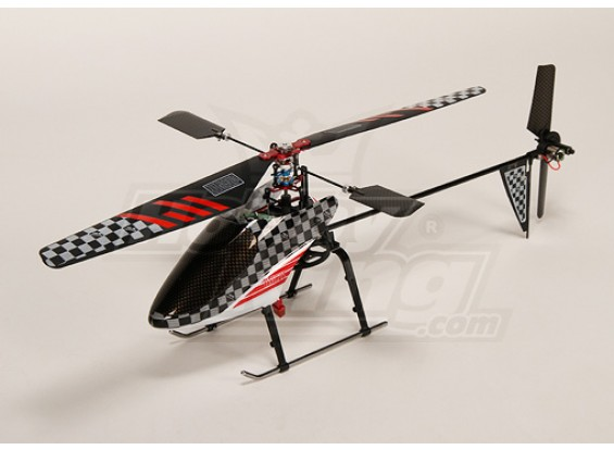Walkera 4 # Metal Edition w / 2,4 GHz 2402 Transmisor Plug-n-Fly