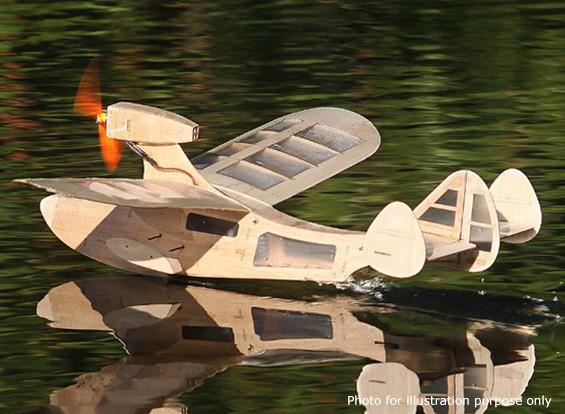 Modelos Parque Escala Mini Drake barco de vuelo