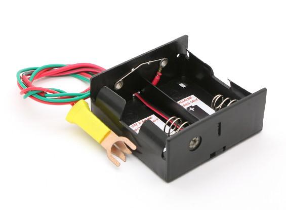 Cox caja de batería de arranque con bujías incandescentes Clip