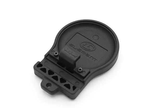 Elemento EX 335 VIP luz del montaje del casco (Negro)