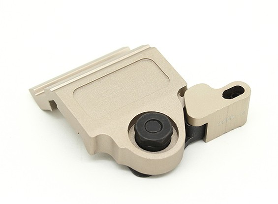 EX290 elemento de liberación rápida LT752 táctico Offset montaje para scout M300 M600 (Tan)