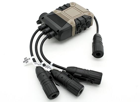 Z Tactical Z119 Z4OPS PRO PTT (tierra oscura, Lite Edition Ver)