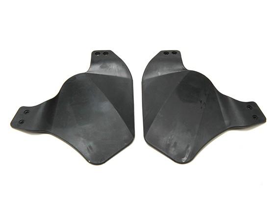 Panel lateral del casco RÁPIDO FMA (Negro)