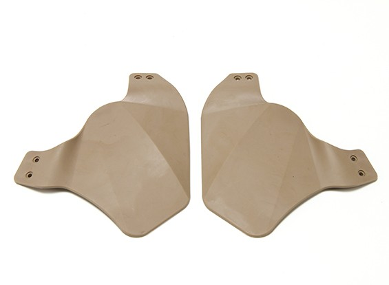 Panel lateral del casco RÁPIDO FMA (tierra oscura)