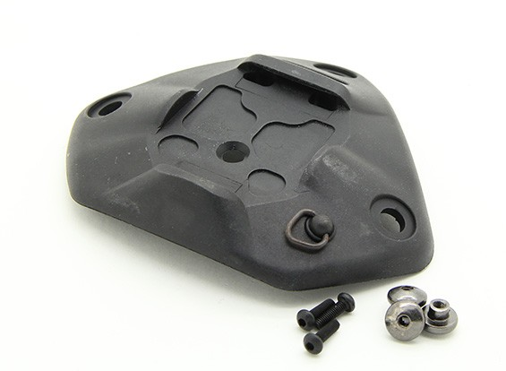 FMA casco de plástico NRT universal Sábana Santa (Negro)