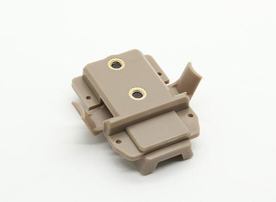 FMA X300 Adaptador para Railed Casco (tierra oscura)