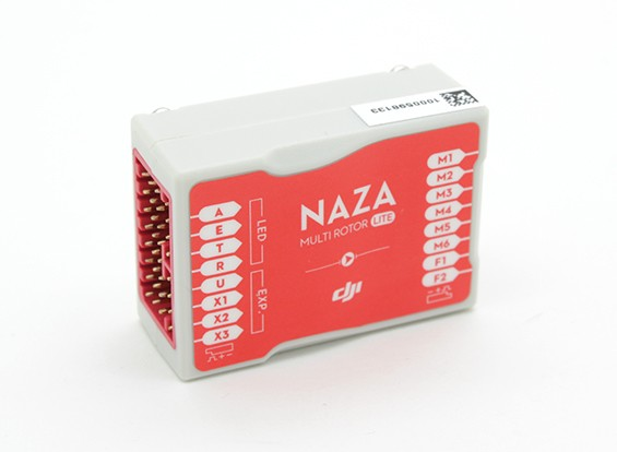 Controlador DJI Naza-M Lite Multi-Rotor Vuelo
