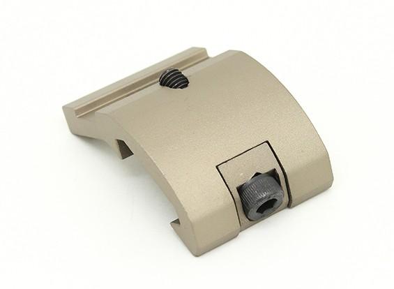 EX263 elemento de estilo de la linterna sector de engranaje para el montaje M300 M600 (Tan)