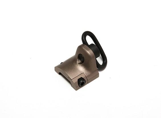 Elemento EX249 sector del engranaje del montaje del carril de parada de la mano (Tan)