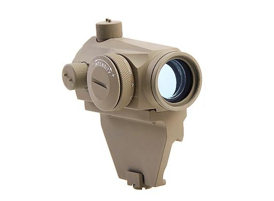 Elemento de vista T1 Micro Red-punto con el carril de montaje Offset (Negro)