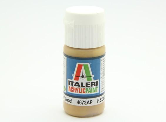 Italeri pintura acrílica - Madera plana
