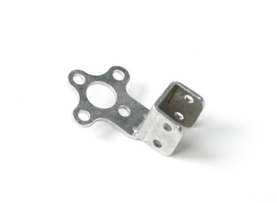 Palo de aluminio montaje del motor de 20mm (plata)