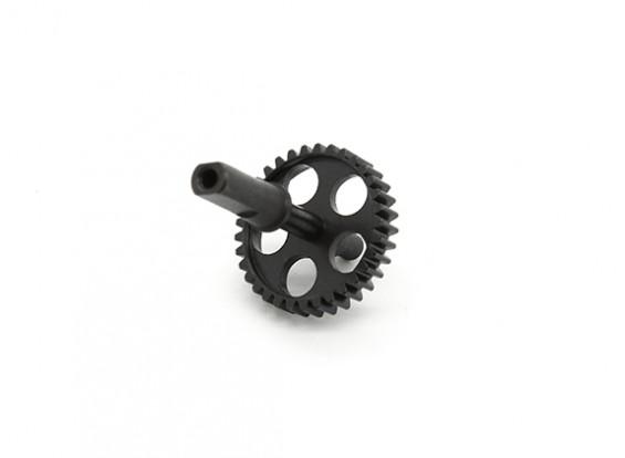 RJX X-TRON 500 cola del metal del engranaje de piñón # X500-70506