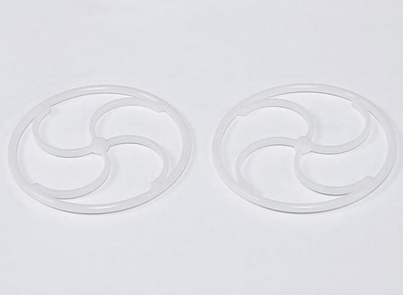 GWS ultra ligeras ruedas (2 piezas de 76 mm)
