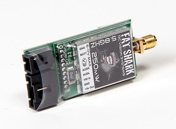 Transmisor 250 mW FatShark V3 5.8GHz vídeo con NexwaveRF