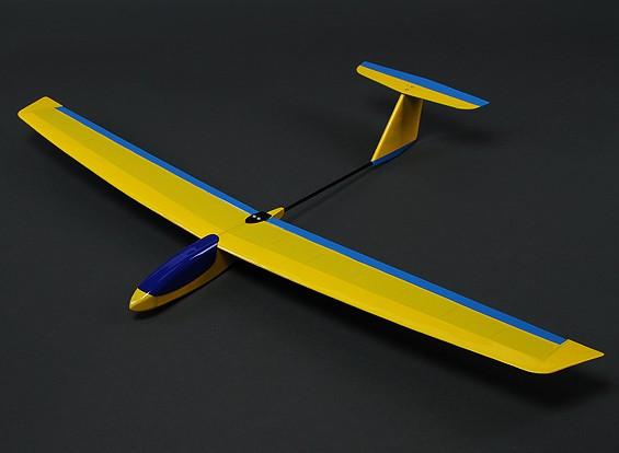 HobbyKing ™ Mini Guppy Pendiente Planeador Balsa 1165mm (PNF)