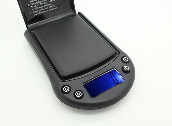 Escala del bolsillo de 0.1g LCD Hobbyking ~ 500g