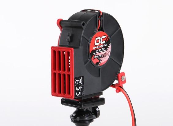 TrackStar 12V DC sin escobillas del ventilador de refrigeración w / trípode