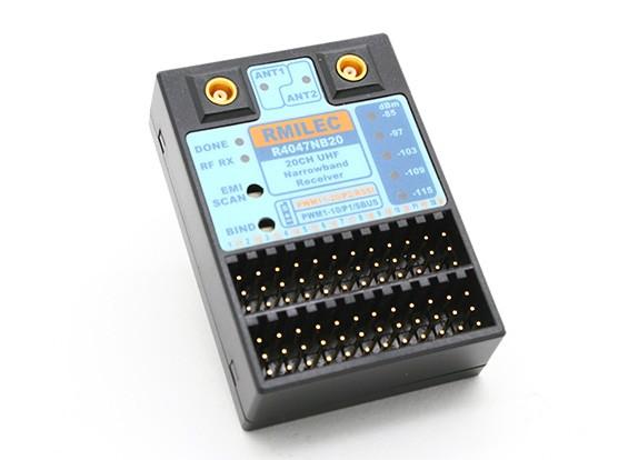 Sistema RMILEC R4047NB20 canal UHF LRS Receptor Para NB20