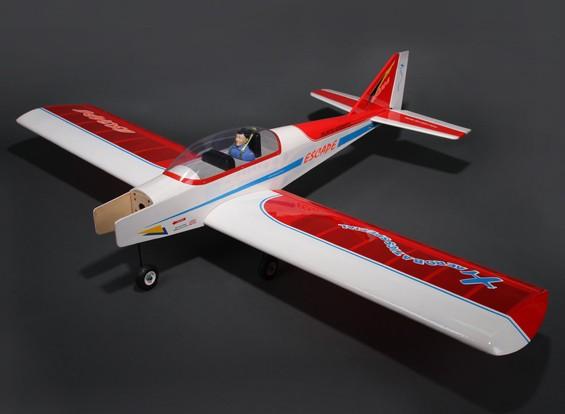 Deporte escapar de ala baja Trainer Balsa GP 1580mm / EP (ARF)