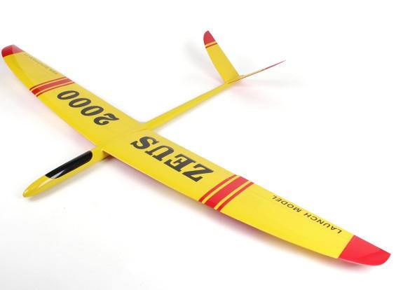 Zeus 2000-V planeador Compuesto 2000mm (ARF)