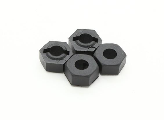 Cubo de rueda (4pcs) - Basher 1/16 Mini Nitro Circus MT