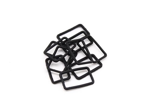 Square Hoja de sello (10 piezas) - BSR Racing BZ-222 1/10 2WD Buggy Racing
